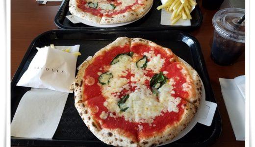 彦根のピザ ナポリスはお手軽ランチにピッタリ!この値段で本格イタリアン