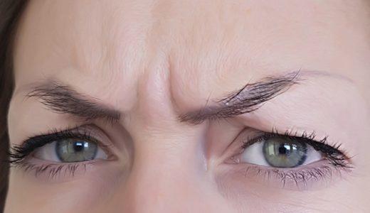 【眉間のしわ】寝てる間につく?寝起きで眉間のシワが深いけど自力で解消する方法